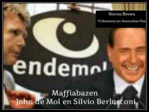 John de Mol en Silvio Berlusconi