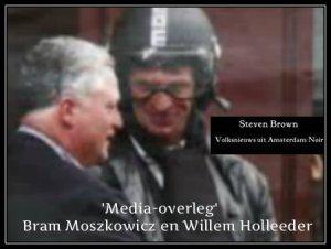 Mediaoverleg Willem en Bram