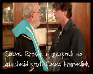Prof Cees Hamelink en StevenBrown-1