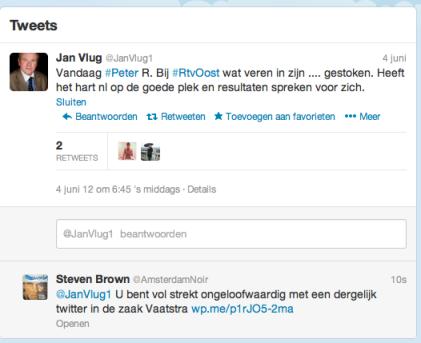 Twitter Mr Jan Vlug