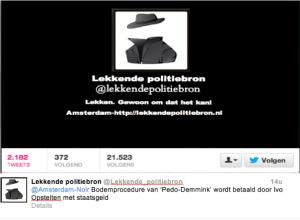 Twitter politiebron