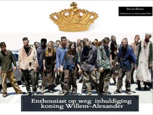 walking dead near inhuldiging