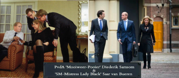 Diederik Samsom en Saar van Bueren