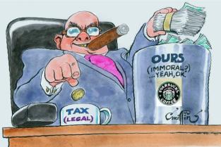 Starbucks Tax