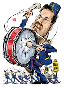 Fanfare Mark Rutte