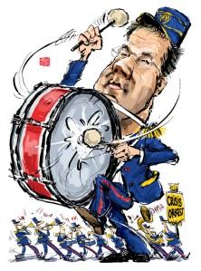 Fanfare Mark Rutte