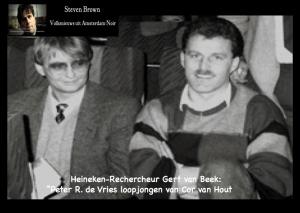 Cor van Hout Peter R de Vries