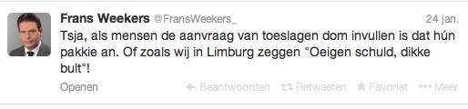 Weekrs twitter