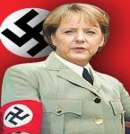 nazi-merkel