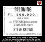 public reward steve brown