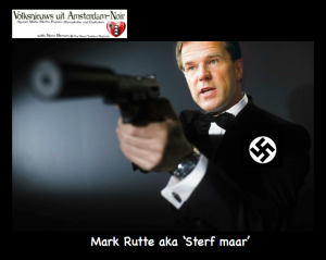 Mark rutte Aka Sterf maar