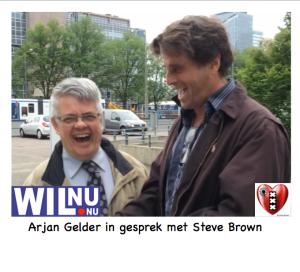 Arjan gelder Steve Brown