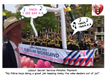 Ronald Plasterk Gay pride