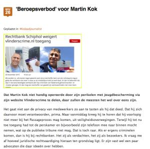 Hendrik Jan Korterink Martin Kok
