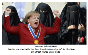 MerkelFour Freedom award