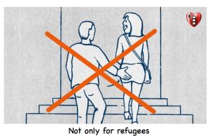 Niet alleen refugees