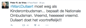 Peter R de Vries Kinderombudsman