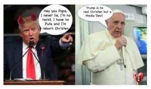 Donald Trump, Pope