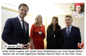 Mark Rutte Queen Maxima