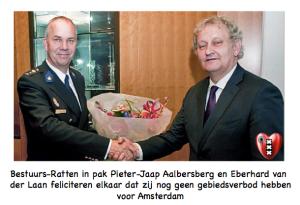 Pieter-Jaap Aalbersberg en Eberhard van der Laan