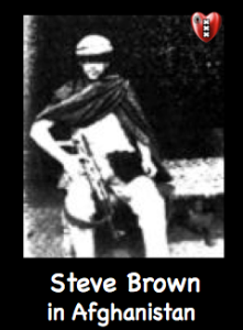 Steve Brown Afghanistan