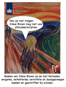 Steve Brown afsrudeerscriptie