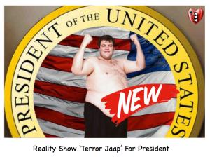 Terror jaap president