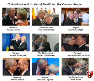 Judas Juncker Kiss