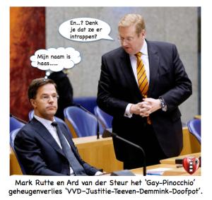 Mark Rutte Ard van der Steur