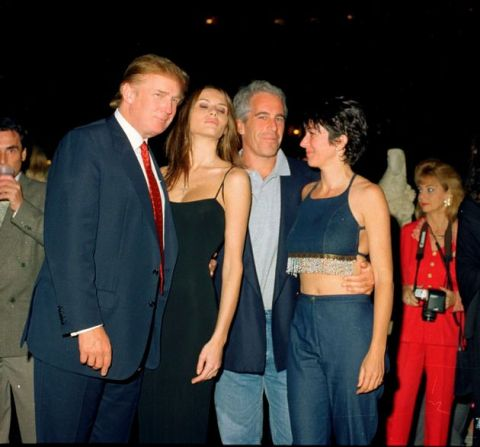'Taxfree- Elite Rapist- Party Time': Puppet Mad Dog- Trump with his First Lady Callgril Melanie and Murderd 'Elite- Pimp Epstein'. CIA no nothing!