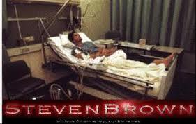 Steve Brown in het VU-ziekhuis na tweede Moordaanslag op hem