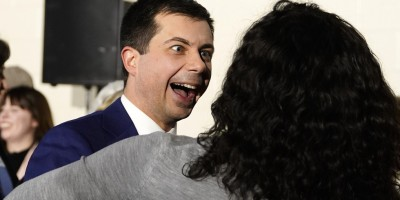 Psycho Buttigieg' is the 'CIA Puppet Guaido' of America' and or the Macron of France